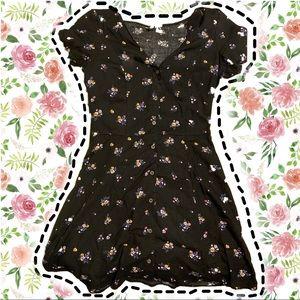 Teen floral dress